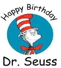 Image result for dr. seuss birthday